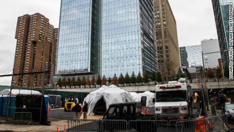 For the first time since 9/11, NYC creates makeshift morgues pending coronavirus deaths