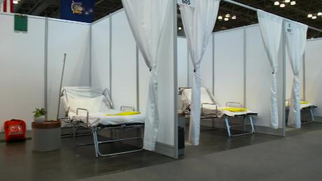 Military sending doctors into New York hospitals hard hit by coronavirus as new facilities sit mostly empty
