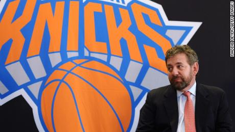 Owner of New York Knicks and Rangers tests positive for coronavirus