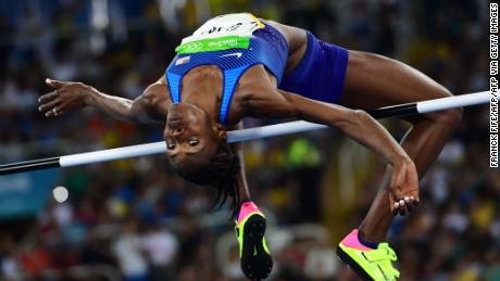 High jumper Chaunté Lowe has competed at four Olympics, but had her world turned upside down last year when she was diagnosed with breast cancer.