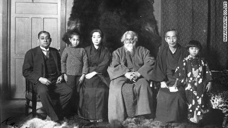 Rash Behari Bose pictured here with poet and Nobel laureate Rabindranath Tagore.