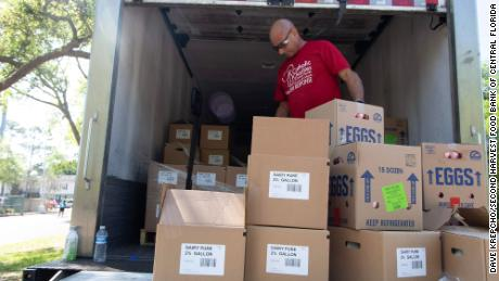Second Harvest Food Bank of Central Florida is seeing a spike in demand and drop in donations.