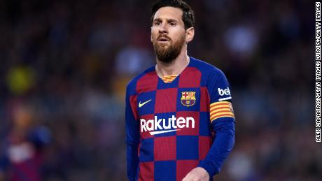 Lionel Messi announced the decision to help those impacted by the virus.