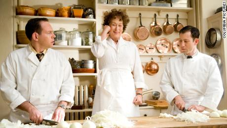 Meryl Streep comme Julia Child dans & quot; Julie & amp;  Julia. & Quot;