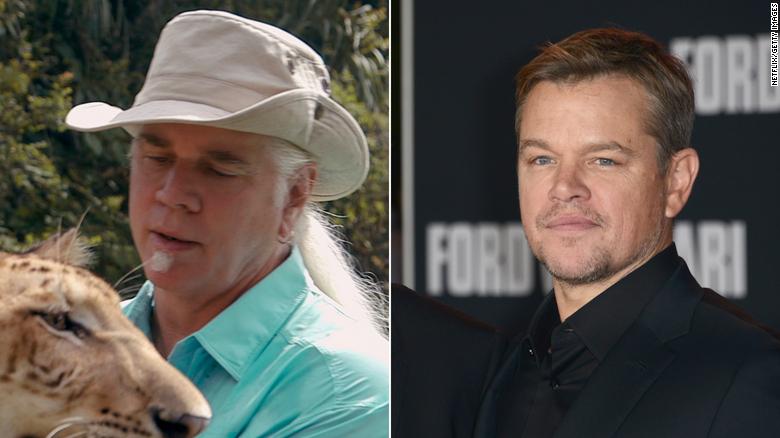 """Bhagavan """"Bác sĩ"""" Antle và Matt Damon."""