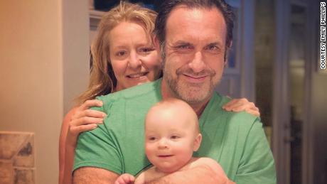 Emily Phillips, her husband, Dr. Jason Phillips and their son, Beau. Emily started RVs for MDs to help connect health care workers with RVs so they could stay self-isolate while staying near their homes.