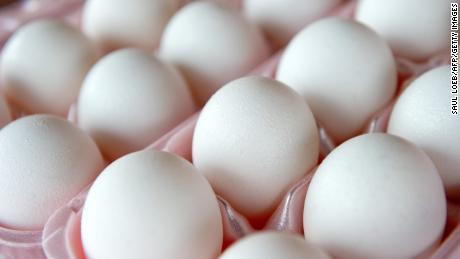 A surge in demand drove up egg prices in March.