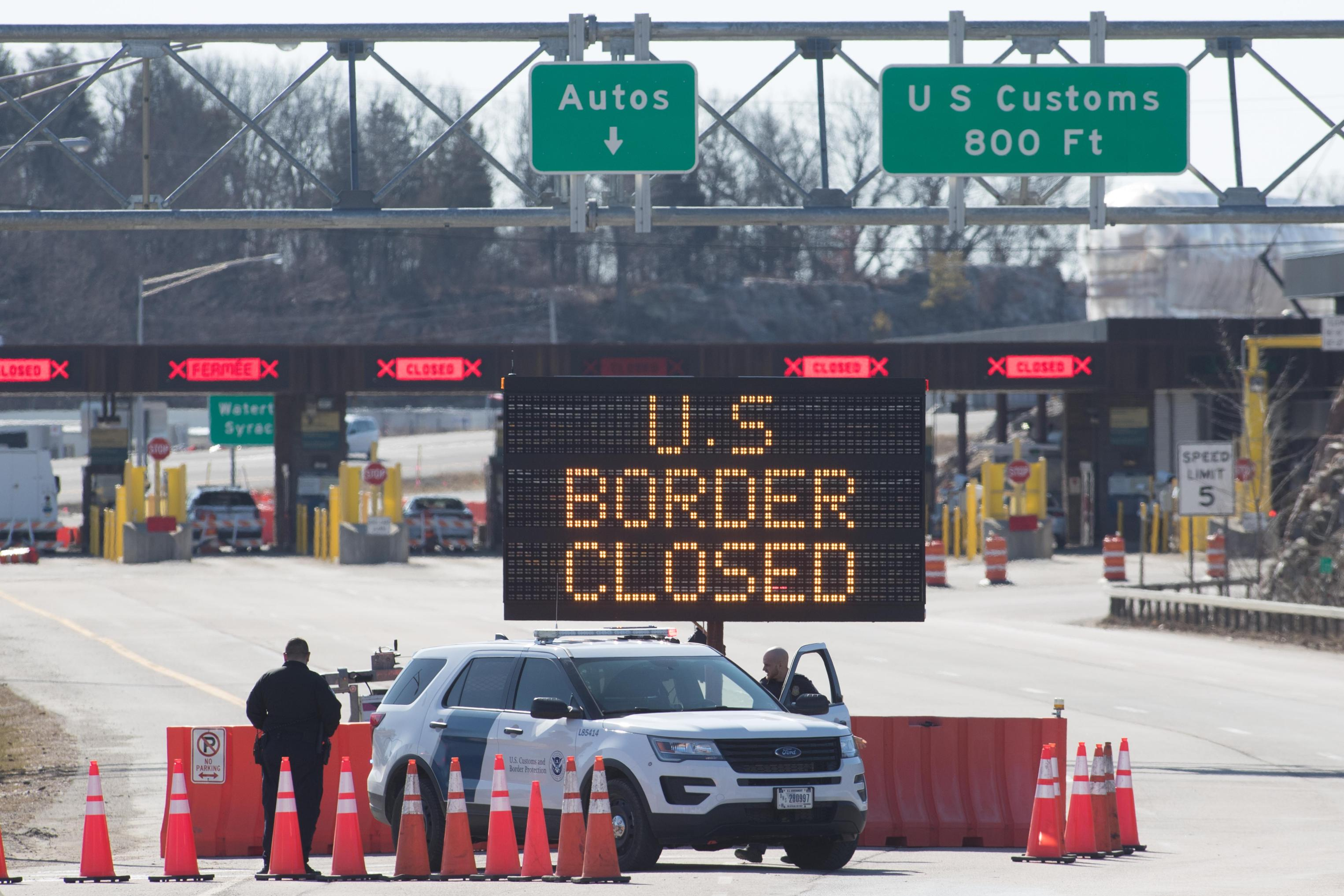 Us Canada Border Will Remain Closed To