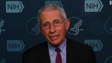 Fauci said he tested negative for coronavirus Saturday