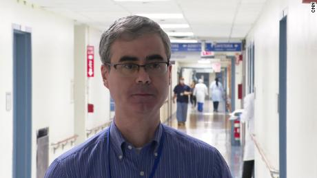 Dr. Robert Foronjy says life has turned upside down for everyone associated with the hospital.