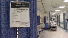 The University Hospital in Brooklyn is now dedicated to only coronavirus patients.