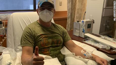 He recovered from coronavirus. Now his plasma donation might save others