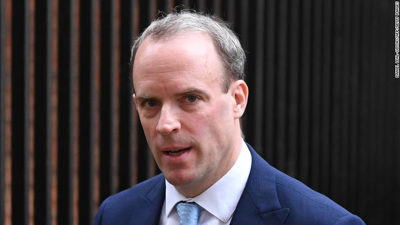UK Foreign Secretary Dominic Raab's bodyguard 'left gun on plane' after US visit