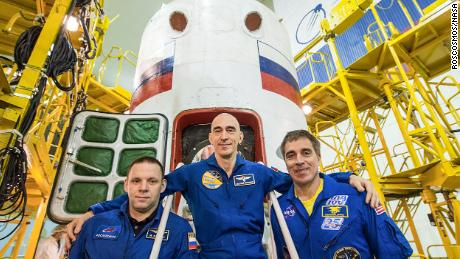 Three-man Space Crew Set for Launch as Earth Battles COVID-19 Pandemic