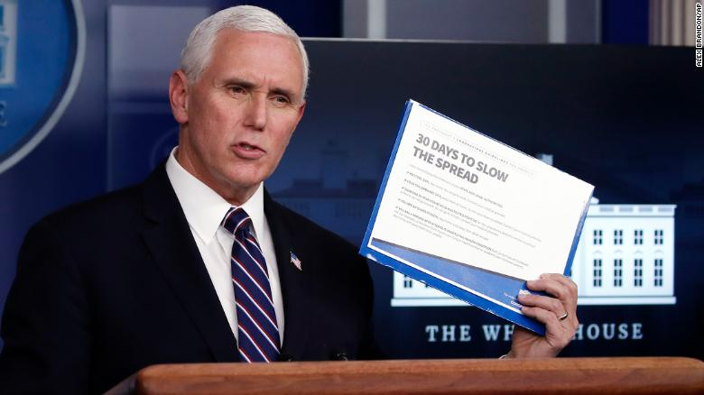 Vice President Mike Pence Blocking Top Health Officials From Appearing On CNN
