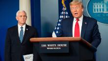 Trump spends Easter weekend pondering the 'biggest decision' of his presidency