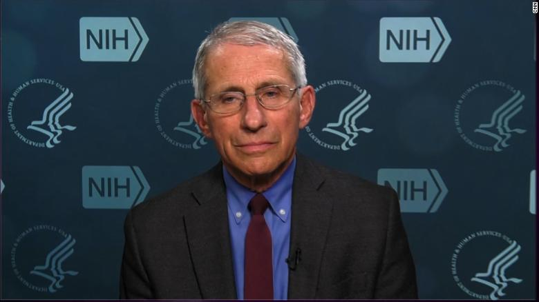 Dr. Fauci speaks out on potentially reopening economy