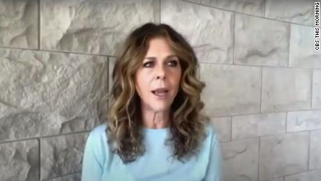 Rita Wilson describes her coronavirus experience in first interview
