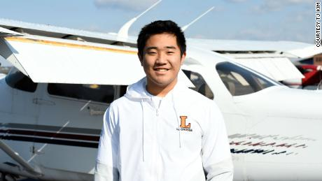 This 16-year-old student pilot is flying medical supplies to rural hospitals during the pandemic