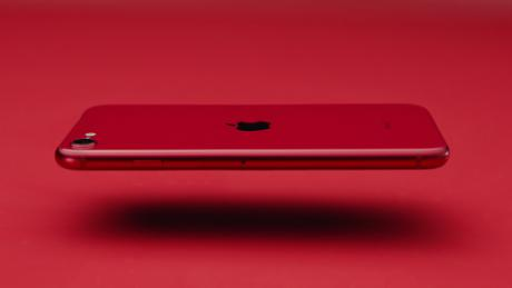 The new iPhone SE in red