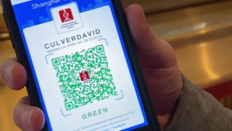 China is fighting the coronavirus with a digital QR code. Here's how it works