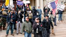 Michigan's protests are a bellwether of an increasingly dangerous partisan divide