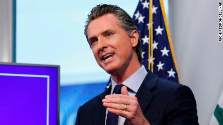 California governor outlines state's phased reopening plan