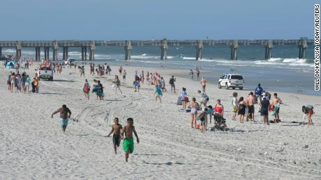 More Florida beaches are reopening