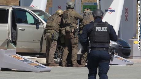Gunman evaded police for nearly 12 hours and killed at least 18 in one of Canada's deadliest mass shootings