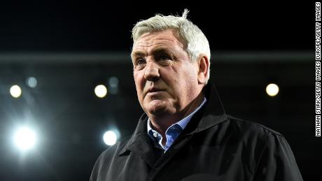 Steve Bruce took charge of Newcastle last year.