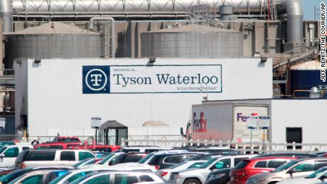 Tyson has closed some plants as workers fall ill.
