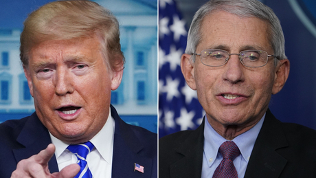 Trump calls Fauci's caution on schools reopening 'not an acceptable answer'