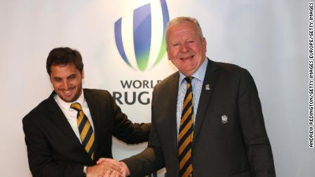 Beaumont v Pichot as World Rugby chairman election kicks off