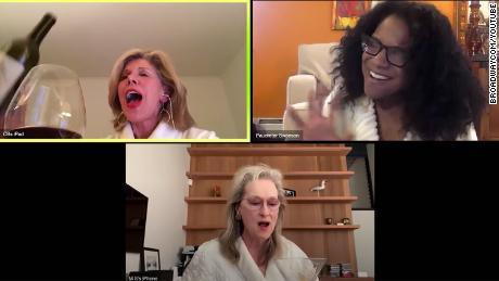 Meryl Streep, Christine Baranski, and Audra McDonald are