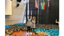 Siya Kolisi and his wife, Rachel, have been helping vulnerable families through the Siya Kolisi Foundation.
