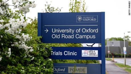 Oxford University is partnering with a vaccine manufacturer, trial results expected in June