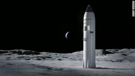SpaceX and Blue Origin among companies selected to build NASA moon landers