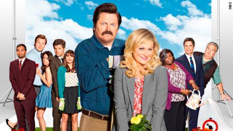 Amy Poehler & Nick Offerman Reunite in First 'Parks & Recreation Special' Clip