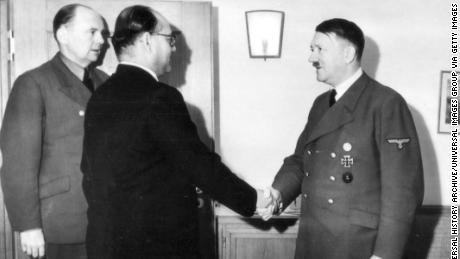 Indian nationalist leader Subhash Chandra Bose was a well-known and respected figure who even met with Adolf Hitler, in May 1942 to gain support for the Indian independence movement.