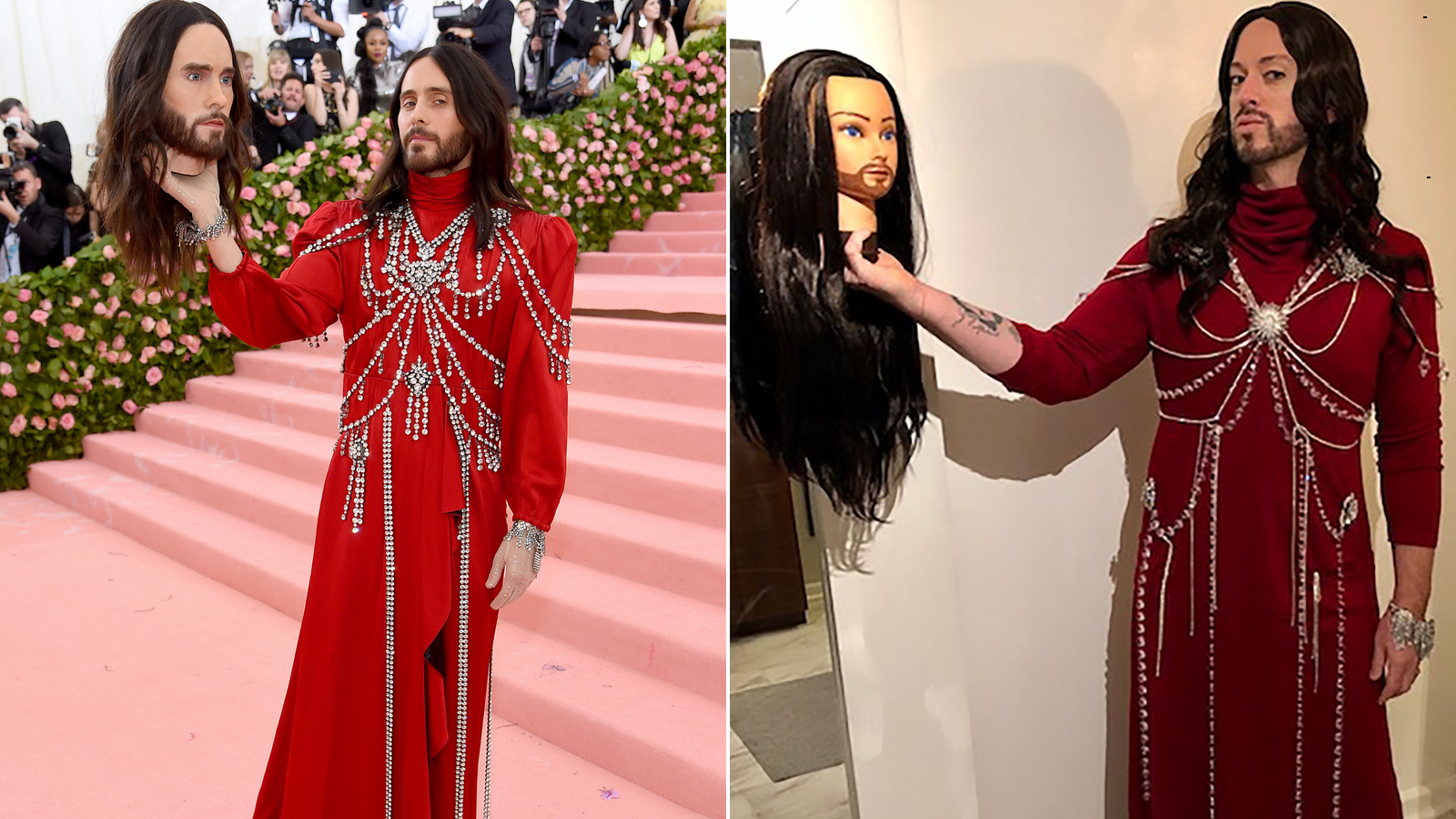 Calling All Closet Rihannas And Cardi Bs Take The Metgalachallenge Cnn Style