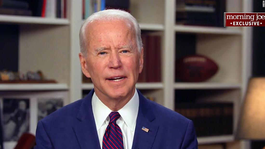 "In May 2020, Biden <a href=""https://www.cnn.com/2020/05/01/politics/joe-biden-tara-reade-allegation/index.html"" target=""_blank"">denied a former aide's claims</a> that he sexually assaulted her 27 years ago. ""This never happened,"" Biden said of Tara Reade's allegation. In an interview with MSNBC, Biden said he did not know why Reade was now making the allegation."