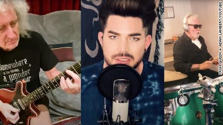 Queen and Adam Lambert reimagine classic song with 'You Are The Champions,' dedicated to health care workers