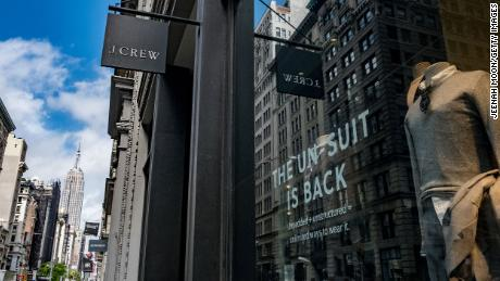 J. Crew filed for bankruptcy Monday.