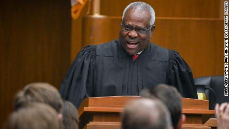 Justice Clarence Thomas has found his moment