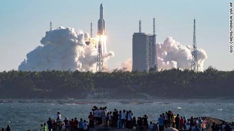 China takes step toward space station with new rocket launch