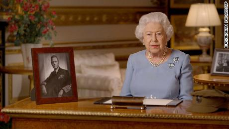 Queen Elizabeth says wartime generation would 'admire' Britain's response to coronavirus, in televised address to mark VE Day