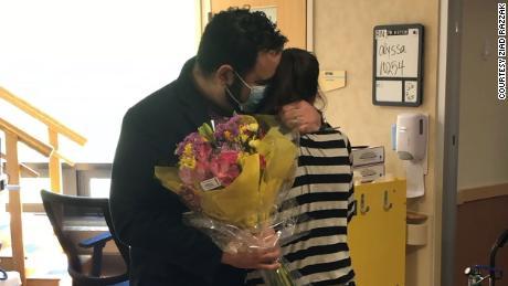 Kappers and her husband Ziad reunited last week.