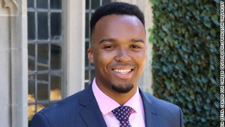 Princeton names its first black valedictorian in the university's history
