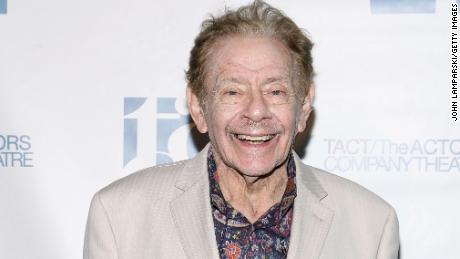 Actor and comedian Jerry Stiller has died of natural causes, Ben Stiller says