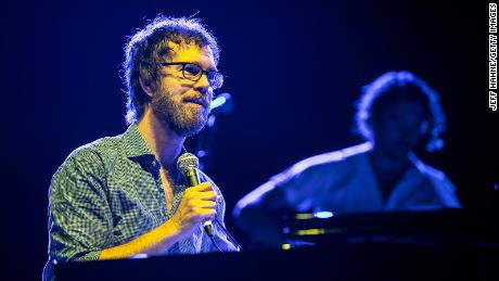 Ben Folds performs at Charlotte Metro Credit Union Amphitheatre on August 08, 2019 in Charlotte, North Carolina.